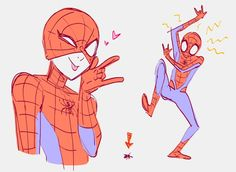 ✨ Kelly Kao ✨ (@kellyykao) / Twitter Last Day At Work, Mini Drawings, Kyoto Animation, Spider Girl, Marvel Characters, Fictional Characters, Storyboard Artist, Spiderman Art, Marvel Universe