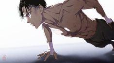 Levi Ackerman // Attack on Titan - Shingeki no Kyojin 5 Anime, Hot Anime Boy, Cute Anime Guys, Anime Girls, Levi Ackerman, Attack On Titan Fanart, Attack On Titan Levi, Levi Fanart, Levi Titan