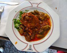 Bamias, (okra) Israeli Sephardic food
