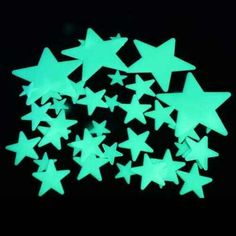 Back in the day my room was completely glow-in-the-dark I had the glow-in-the-dark stars and the glow-in-the-dark planets LOL so cool back then also the glow-in-the-dark beads for my door