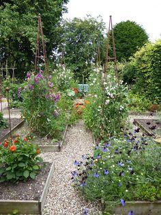 Behind the Hedges: Catherine Horwood's Hidden Kitchen Garden: Gardenista
