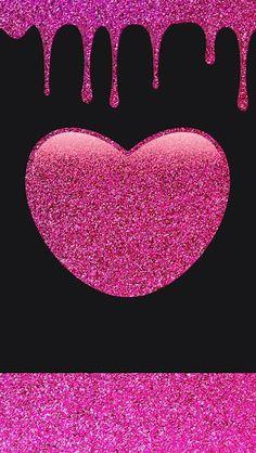 bling wallpaper, pink and black wallpaper, iphone wallpaper glitter, he Bling Wallpaper, Iphone Wallpaper Glitter, Cute Wallpaper For Phone, Heart Wallpaper, Images Wallpaper, Love Wallpaper, Cellphone Wallpaper, Colorful Wallpaper, Beautiful Flowers Wallpapers