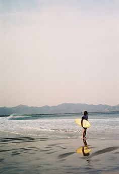 Ocean, waves, and board!