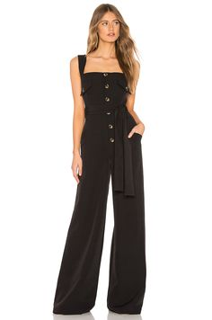 78c03ac1f3f7 Shop for L Academie Gayle Jumpsuit in Black at REVOLVE.
