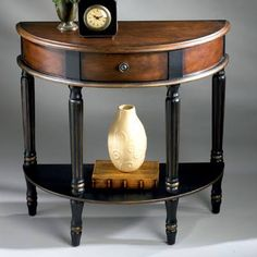what is a demi lune table - Google Search