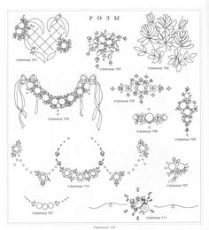 Bordado Passo a Passo: Bordado Ponto Rococó Bullion Embroidery, Baby Embroidery, Silk Ribbon Embroidery, Vintage Embroidery, Cross Stitch Embroidery, Floral Embroidery Patterns, Hand Embroidery Designs, Wreath Drawing, Brazilian Embroidery