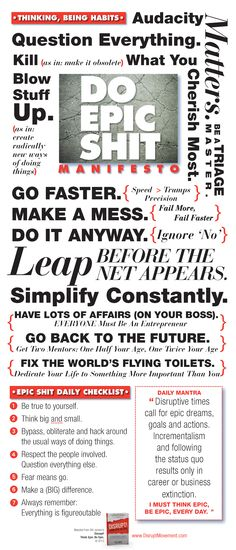 interesting approach that seems up push mass approach to being epic....but do like the typography of the infographic-ish quotes