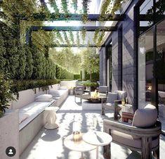 Outdoor Pergola, Outdoor Landscaping, Outdoor Areas, Outdoor Rooms, Outdoor Living, Outdoor Decor, Pool Landscape Design, Terrace Design, Outdoor Entertaining