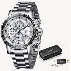 Relogio Masculino LIGE New Sport Chronograph Mens Watches Top Brand Luxury 17