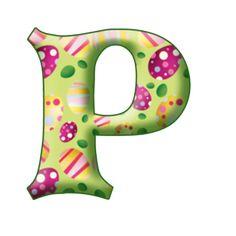 Easter Alphabet Ad - Minus