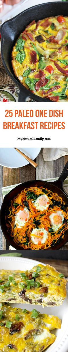 I love how easy it is to cook these Paleo breakfast recipes in one dish. I especially love cleaning up only one dish. Some of these look so good. I need to try #14.