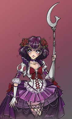 Sailor Saturn by NoFlutter.deviantart.com on @deviantART