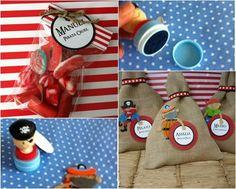 fiesta pirata terron de azucar detalles Divertidos regalos para una fiesta pirata