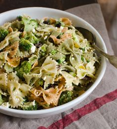 Recipe: Broccoli and Feta Pasta Salad