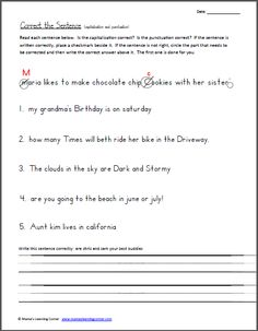 Worksheet 3rd Grade Capitalization Worksheets quotations free printables and for kids on pinterest capitalization punctuation worksheet