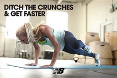 Say good-bye to crunches & strengthen your core with these 5 exercises