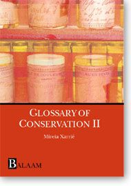 An art conservation dictionary.
