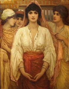"Female Artists on Twitter: ""Kate Gardiner Hastings (1837-1925). Victorian painter. 'Esther' Pre-Raphaelite https://t.co/9c78YQlS0W"""