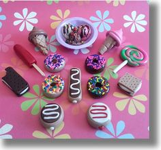 """American Girl Doll Food 18"""" Doll Food """"Sweet Tooth"""" COLLECTION-Amazing Detail"""