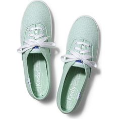 Keds Champion Hearts (865 UYU) ❤ liked on Polyvore featuring shoes, sneakers, keds, zapatillas, hearts mint, keds footwear, heart shoes, mint sneakers, laced up shoes and lace up shoes