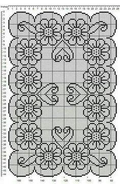Patterns Tablecloth Free Patterns Archives - Beautiful Crochet Patterns and Knitting Patterns Crochet Patterns Filet, Blackwork Patterns, Crochet Stitches, Knitting Patterns, Crochet Designs, Free Knitting, Cross Stitch Rose, Cross Stitch Flowers, Cross Stitch Embroidery