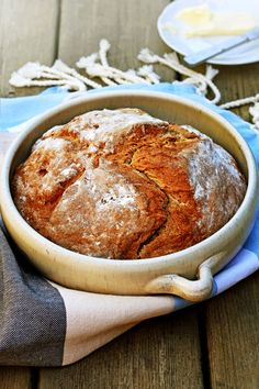 Classic French Bread: Easy Buckwheat and Buttermilk Bread, with a hint of honey. Deliciously crispy ! - Pardon Your French
