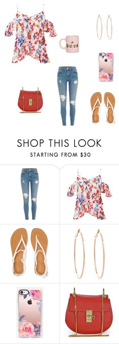 """""""Good morning"""" by destinyl734 ❤ liked on Polyvore featuring Tanya Taylor, Aéropostale, Rosa de la Cruz, Casetify and ban.do"""