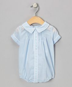 I love baby clothes that are a tad bid old fashioned looking ... probably b/c it reminds me of what mom used to dress us in:-) This is on #zulily ... starting to love that site!