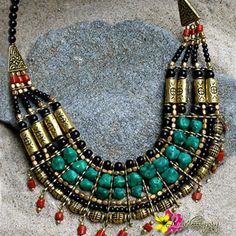 """Be elegantly beautiful by wearing with our """"Jaipur Necklace"""" for only $31 #Necklace #StatementJewelry #Jewelry #IndianJewelry #IndianTreasures #Hippie #Luvgypsy #Boho #Gypsy #BeadedNecklace #BohoChic #Bohemian #Tribal #GypsyNecklace #BohemianNecklace #HippieNecklace #UniqueJewelry #SilverNecklace #GoldJewelry #NativeNecklace #TribalNecklace #2016Collections #2016Jewelry #2016Accessories #2016Trends #2016NewTrends #2016FashionTrends #2016Beauty #ElegantJewelry #FabulousJewelry"""
