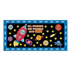Mission of Faith Bulletin Board Set - OrientalTrading.com