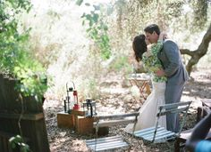 Read for possible ideas: campsite wedding on green wedding shoes Camping Wedding Theme, Camp Wedding, Wedding Wear, Summer Wedding, Woodsy Wedding, Wedding Dress, Summer Camp Themes, Romance And Love, Green Wedding Shoes