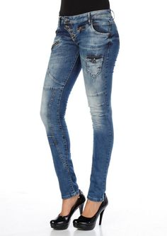 dicke Latina-Jeans