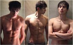 Korean Actor Lee Dong Wook shirtless taking a shower Ji Chang Wook Abs, Lee Dong Wook Abs, Lee Dong Wook Goblin, Most Handsome Korean Actors, Dramas, Sexy Asian Men, Asian Guys, Woo Young, Kdrama Actors