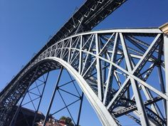 #bridge #porto #metal #construction #eiffel