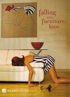 cool furniture advertising - Google Search
