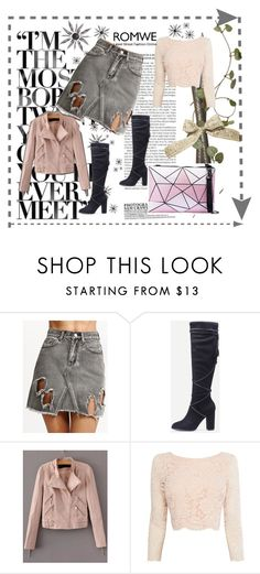 """""""Romwe 6"""" by dinka1-749 ❤ liked on Polyvore featuring Coast"""