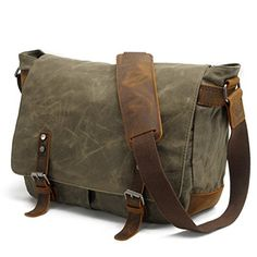 968c53009c6f Waterproof Canvas Messenger Bag