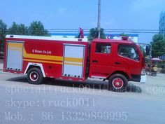 special truck : 10 units of fire trucks exported to Southeast Asia...