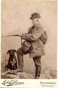 Hunter with dog