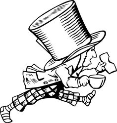 Free Vector Graphic: Mad Hatter, Alice In Wonderland - Free Image on Pixabay - 28816
