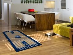 Memphis Grizzlies NBA Large Court Runner 29.5x54 by Fanmats. $29.75. Memphis Grizzlies NBA Large Court Runner 29.5x54Support your favorite NBA team with these basketball court-shaped runners by FANMATS. Made in U.S.A. 100% nylon carpet and non-skid recycled vinyl backing. Machine washable. Officially licensed. Chromojet printed in true team colors. Please note: These products are custom made. The normal lead time is about 7-10 business days. However, the putting mats and c...