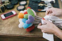 Realizando um Sonho | Blog de casamento e vida a dois: Buquês de algodão, feltro, papel..., de vários tipos!