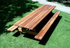 convertible park bench picnic table plans #1