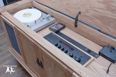 Old House Crazy - DIY - Restore an Old Stereo Console - 27