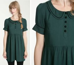 Urban Outfitters Peter Pan Collar Dress