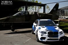 BMW X6 CAMO Front Perspective