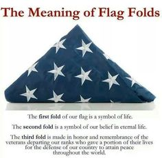 The meaning of flag folds