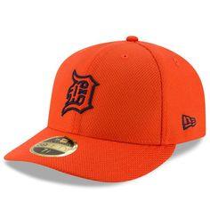 watch 728d7 c5a9b Men s Detroit Tigers New Era Orange Diamond Era 59FIFTY Low Profile Fitted  Hat,  37.99