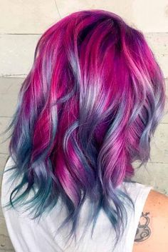 Amazing Magenta Hair Color Ideas ★ See more: http://lovehairstyles.com/magenta-hair-color-ideas/