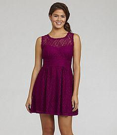 B Darlin Lace Dress #Dillards